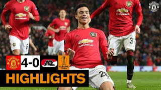 Highlights | Manchester United 4-0 AZ Alkmaar | UEFA Europa League