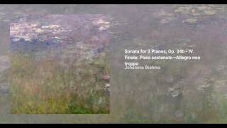 Sonata for 2 Pianos, Op. 34b