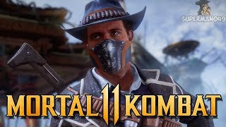 """First Time Playing ERRON BLACK Online! - Mortal Kombat 11: """"Erron Black"""" Gameplay"""