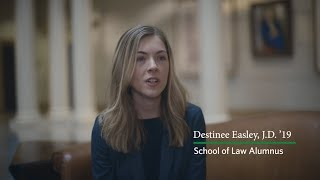 Equipped and Confident: Destinee Easley's '19 Regent LAW Experience