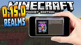 MCPE 0.15.0 UPDATE RELEASED!!! - Beta Realms Gameplay - Minecraft PE (Pocket Edition)