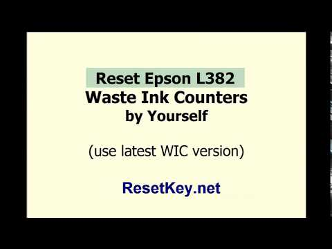 How to get free wic reset key - Reset Epson Printer