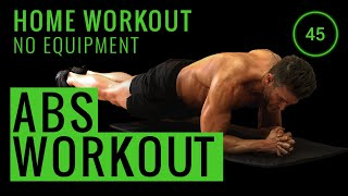 10 MINUTE ABS WORKOUT   No Equipment Home Workout