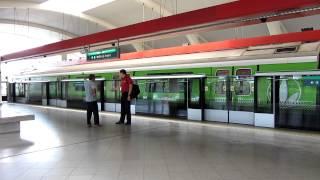 SMRT C151 [023/024] Departing Tanah Merah (» Changi Airport)