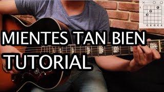 """Como Tocar """"Mientes Tan Bien"""" De Sin Bandera   Tutorial Guitarra (Acordes) HD"""