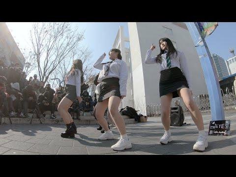 Thumbs Up | 모모랜드 - 댄스팀 아이즈(EYES) 홍대버스킹 chulwoo 직캠(Fancam)