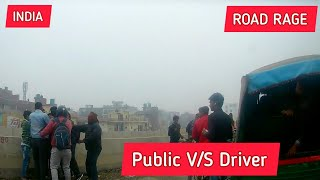 Road Rage and fighting in India   Auto wale ko public ne Maara #Accident #RoadRage
