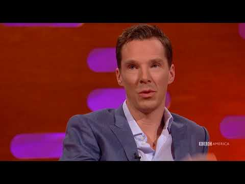 Benedict Cumberbatch Spilled Star Trek Secrets to Stephen Hawking - The Graham Norton Show