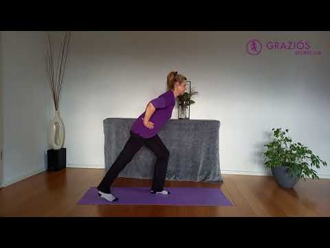 Hallo Sommer! Workout-Woche, Tag 4, mit Claudia