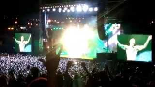 """Chris Brown - New Flame/Ayo/Loyal Live In """"Live Park"""" Israel"""