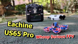 Eachine US65 Pro High Speed Obstacle course Funny FPV Whooping