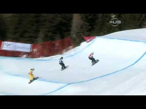Snowboarder Ricker gets the win from Universal Sports