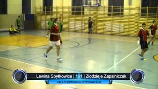 preview picture of video 'Lawina Spytkowice - Złodzieje Zapalniczek | Podhalańska Liga Futsalu | 30.11.2013'