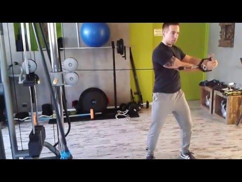 Jak pompa mięśni piersiowych w domu