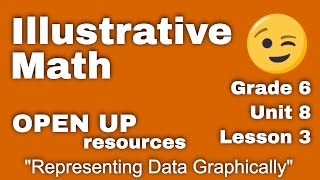 "Illustrative Mathematics: Unit 8, Lesson 3 ""Representing Data Graphically"""