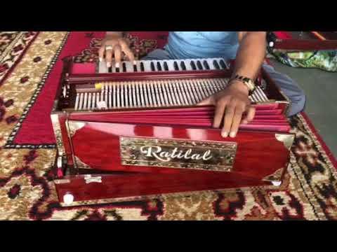 4 Line 13 Scale Portable Harmonium With Coupler