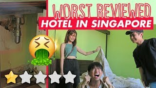 Staying at the WORST reviewed hotel in Singapore (1 STAR)