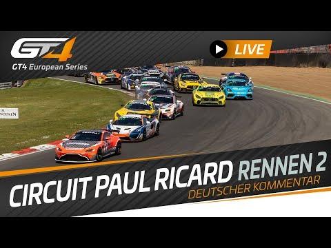 RACE 2 - PAUL RICARD - GT4 European Series 2019 - GERMAN