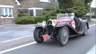 preview picture of video 'International Bugatti Rally 2012, Vaals, The Netherlands'
