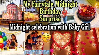 Birthday SURPRISE MID NIGHT HE TOOK ME OUT OF MY ROOM, BIRTHDAY CELEBRATION VLOG  SUPERPRINCESSJO