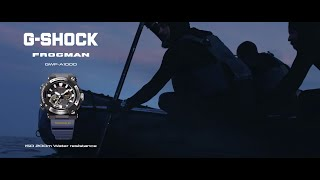 Casio FROGMAN GWF-A1000 Promotional movie Advert