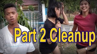 Mariano, Belle & Kat - New House Cleanup part 2 | SY Talent Entertainment
