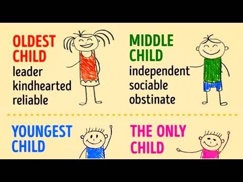 HOW BIRTH ORDER CAN SHAPE YOUR PERSONALITY ?!