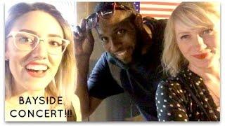 BAYSIDE CONCERT VLOG IN NYC   Katie Carney