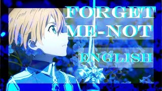 Forget Me Not English Cover Sword Art Online Alicization ED