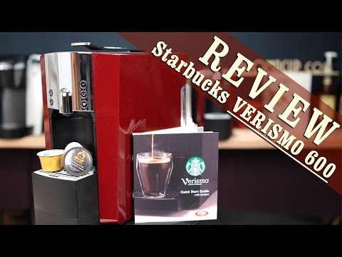 Starbucks Verismo 600 Review Automatic Coffee Maker