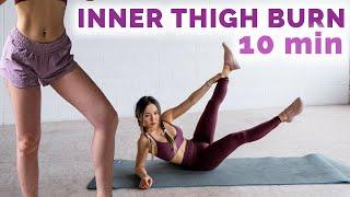 10 min Inner Thigh Workout | Burn Inner Thigh Fat (No Jumping)