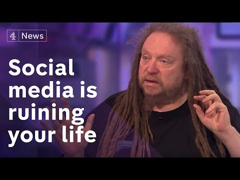 Channel 4 News (UK) - Jaron Lanier interview on how social media ruins your life