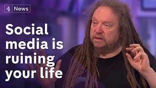 Jaron Lanier interview on how social media ruins your life