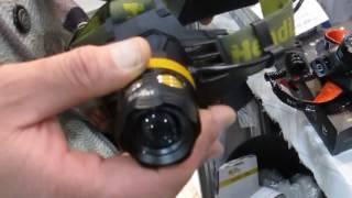 Светодиодные налобные фонари для рыбалки и охоты