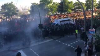 G20 HAMBURG  AUSSCHREITUNGEN   POLIZEI SCHWARZEN BLOCK  WELCOME TO HELL