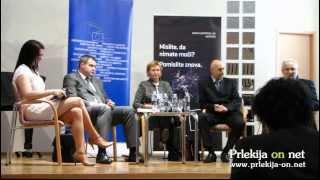 Alojz Sok o samooskrbi - Okrogla miza Evropske poti in sredstva za razvoj Slovenije