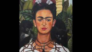 Self Portrait with Necklace of Thorns (kahlo)
