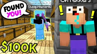IF YOU FIND ME, TAKE $100,000! (Minecraft FACTIONS)