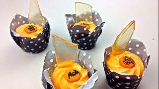BROKEN GLASS CUP CAKES - Halloween Recipe