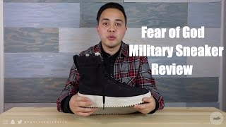 Review: Fear of God Military Sneaker by Jerry Lorenzo