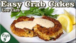 Awesome Crab Cakes – A Low Carb Keto Easy Crab Cake Recipe