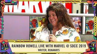 Rainbow Rowell talks writing RUNAWAYS from SDCC 2019!