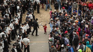 video: Watch: Guatemalan troops break up migrant group on their way to Mexico