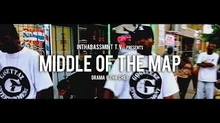 Drama G Tha Chief - Middle Of The Map (Official Video) 🎥 @InThaBassmintTv 📺