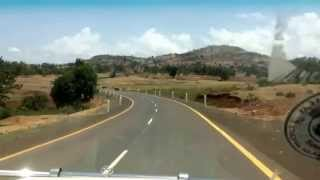 Driving from Addis Ababa to Nekemte, Ethiopia