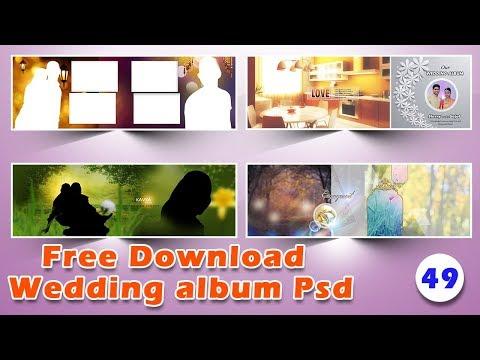 Wedding album psd free files free download ,VOL-49 | Srinu photo editing
