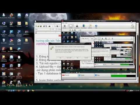 video hướng dẫn làm website từ a-z vs mã nguồn wordpress