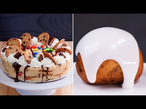 Easy DIY Dessert Treats |  No Bake Cake Recipes and more | Fun Food Ideas by So Yummy