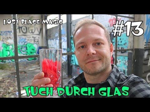 TUCH DURCH GLAS - Lost Place Zaubertrick mit Erklärung/Auflösung ( Folge 13)