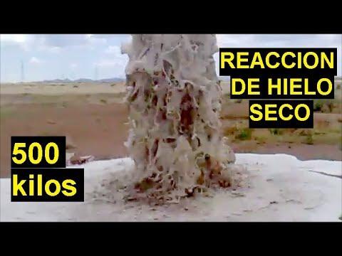 Limpieza de Pozo Profundo con 500 Kilos de Hielo Seco